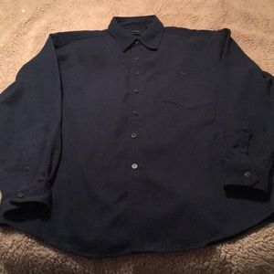 George Sueded Long Sleeve Size L Exc New Condition